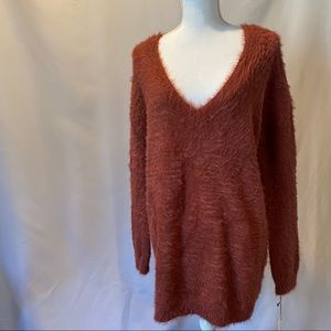 Anthropologie Ruby Moon Tunic Sweater NWT Sm